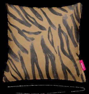 Zitzaq kussen Tiger striped sky gold